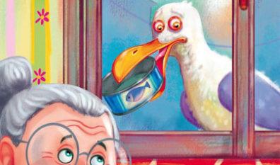 Libri per bambini – Il gabbiano Zeno in città